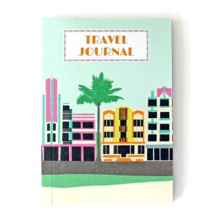 【トラベルジャーナル】Miami Deco Travel Journal【SUKIE】