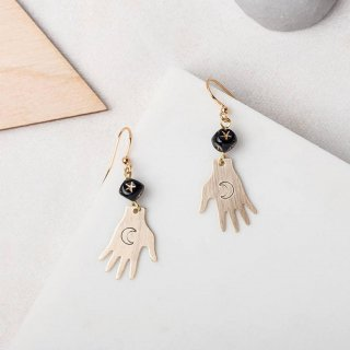 【ピアス/イヤリング】TAROT Earrings【Loubijoux】