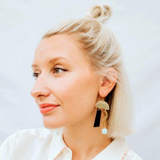 【ピアス/イヤリング】TENTILA Earrings【Loubijoux】