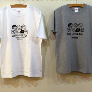 MICRO-LADY COFFEE STAND オリジナル Tシャツ【7周年/限定品】