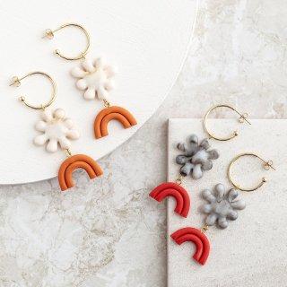 【ピアス/イヤリング】BULUME Earrings【Loubijoux】