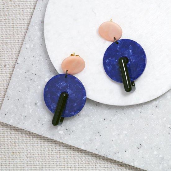 【ピアス/イヤリング】MARMO II Earrings【Loubijoux】