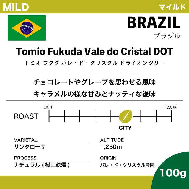 【100g】ブラジル トミオ フクダ DOT