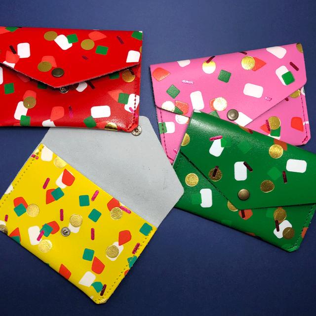 【カードケース/パース】TUTTI FRUTTI POPPER PURSE【ARK Colour Design】