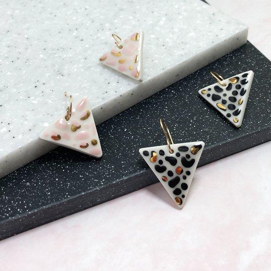 【ピアス/イヤリング】Tembe Animal Print Earrings【Little Lovers Ceramics】