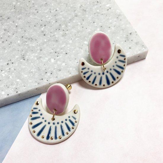 【ピアス/イヤリング】Gwyneth Earrings【Little Lovers Ceramics】