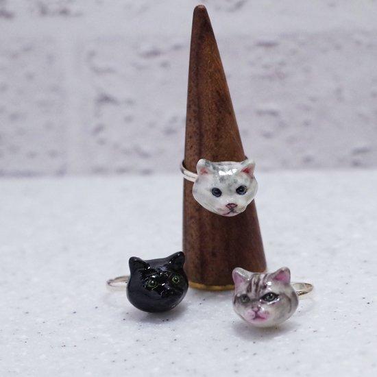 【リング】CAT RING【HOP SKIP & FLUTTER】
