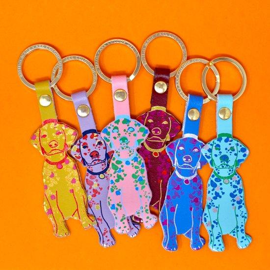 【キーホルダー】DOG KEY FOB【ARK Colour Design】