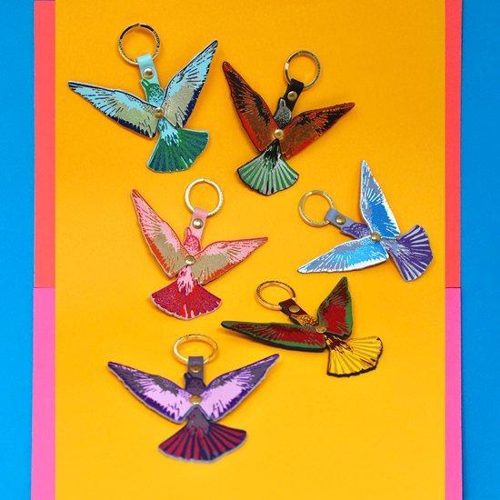 【キーホルダー】FLYING BIRD KEY FOB【ARK Colour Design】