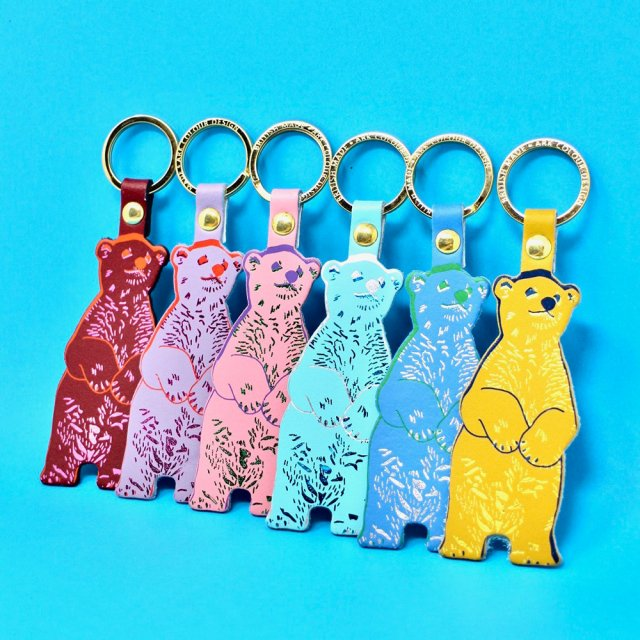 <img class='new_mark_img1' src='https://img.shop-pro.jp/img/new/icons5.gif' style='border:none;display:inline;margin:0px;padding:0px;width:auto;' />【キーホルダー】BEAR KEY FOB【ARK Colour Design】