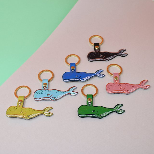 <img class='new_mark_img1' src='https://img.shop-pro.jp/img/new/icons5.gif' style='border:none;display:inline;margin:0px;padding:0px;width:auto;' />【キーホルダー】HUMPBACK WHALE KEY FOB【ARK Colour Design】