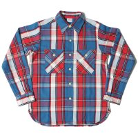 WAREHOUSE / Lot 3104 FLANNEL SHIRTS C柄 NON WASH