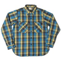 WAREHOUSE / Lot 3104 FLANNEL SHIRTS D柄 ONE WASH