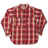 WAREHOUSE / Lot 3105 FLANNEL SHIRTS A柄 ONE WASH