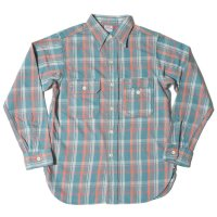WAREHOUSE / Lot 3105 FLANNEL SHIRTS B柄 ONE WASH