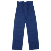 WAREHOUSE × U.S.NAVAL ACADEMY / DENIM DECK PANTS(無地) OR