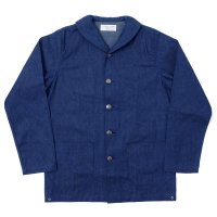 WAREHOUSE × U.S.NAVAL ACADEMY / DENIM DECK JACKET(無地) OR
