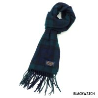 PENDLETON / PLAID WHISPERWOOL MUFFLER
