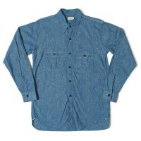 WAREHOUSE / Lot 3019 WESTERN YORK CHAMBRAY SHIRTS(ONE WASH)