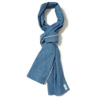 WAREHOUSE / Lot 5207 SELVEDGE FABRIC SCARF シャンブレー(サックス)
