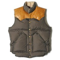 WAREHOUSE & CO. / ROCKY MOUNTAIN×WAREHOUSE & CO. NYLON DOWN VEST