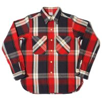 WAREHOUSE / Lot 3104 FLANNEL SHIRTS B柄 ONE WASH