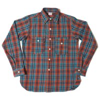 WAREHOUSE / Lot 3105 FLANNEL SHIRTS(UNCLE SAM MODEL) A柄 NON WASH