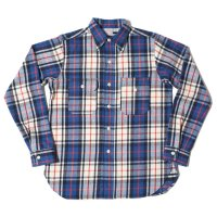WAREHOUSE / Lot 3105 FLANNEL SHIRTS(UNCLE SAM MODEL) B柄 ONE WASH