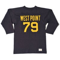 WAREHOUSE / Lot 4063 7分袖フットボールT WEST POINT