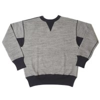 HELLER'S CAFE / HC-M142-3 1930's 2tone Double V Sweatshirts