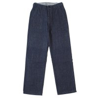WAREHOUSE / Lot 1086 HERRINGBONE MILITARY PANTS INDIGO