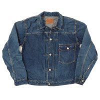 WAREHOUSE & CO. / 2ND-HAND 2001(T BACK STYLE) DENIM JACKET(USED WASH 濃)