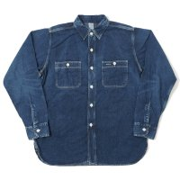 [ご予約商品] WAREHOUSE & CO. / 2ND-HAND DENIM WORK SHIRTS(USED WASH)