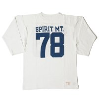 WAREHOUSE & CO. / Lot 4063 7分袖フットボールT SPIRIT MT.