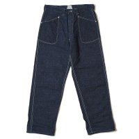 HELLER'S CAFE / HC-255 PRISONER PANTS INDIGO OR