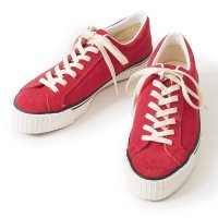 WAREHOUSE & CO. / Lot 3400 SUEDE SNEAKER RED(直営店限定カラー)