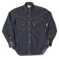 WAREHOUSE & CO. / Lot 3001 LONG HORN TYPE DENIM WESTERN SHIRTS