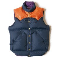 WAREHOUSE & CO. / Lot 2121 ROCKY MOUNTAIN×WAREHOUSE & CO. NYLON DOWN VEST