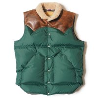 WAREHOUSE & CO. / Lot 2122 ROCKY MOUNTAIN×WAREHOUSE & CO. NYLON CHRISTY VEST