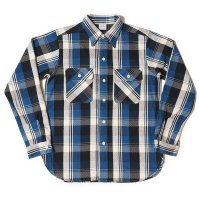 WAREHOUSE & CO. / Lot 3104 FLANNEL SHIRTS B柄 ONE WASH
