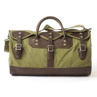 WAREHOUSE & CO. / Lot 5218 LEATHER & CANVAS BOSTON BAG