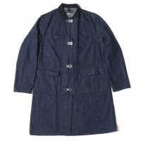 WAREHOUSE & CO. / Lot 2132 BUCKLE FRONT DENIM SHOP COAT