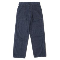 [ご予約商品] WAREHOUSE & CO. / Lot 1202 U.S.NAVY DENIM UTILITY TROUSERS(ONE WASH) プリント