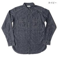 [ご予約商品] WAREHOUSE & CO. / Lot 3023 CHAMBRAY SHIRTS WITH CHINSTRAP