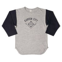 WAREHOUSE & CO. / Lot 4800 7分袖ベースボールT GARDEN CITY