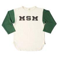WAREHOUSE & CO. / Lot 4800 7分袖ベースボールT MSM