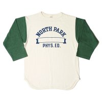 WAREHOUSE & CO. / Lot 4800 7分袖ベースボールT NORTH PARK