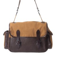 WAREHOUSE & CO. / Lot 5219 LEATHER & CANVAS FIELD BAG