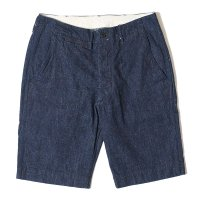 WAREHOUSE & CO. / Lot 1204 CHINO SHORTS インディゴデニム