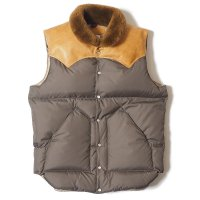 WAREHOUSE & CO. / Lot 2138 ROCKY MOUNTAIN × WAREHOUSE  NYLON CHRISTY VEST